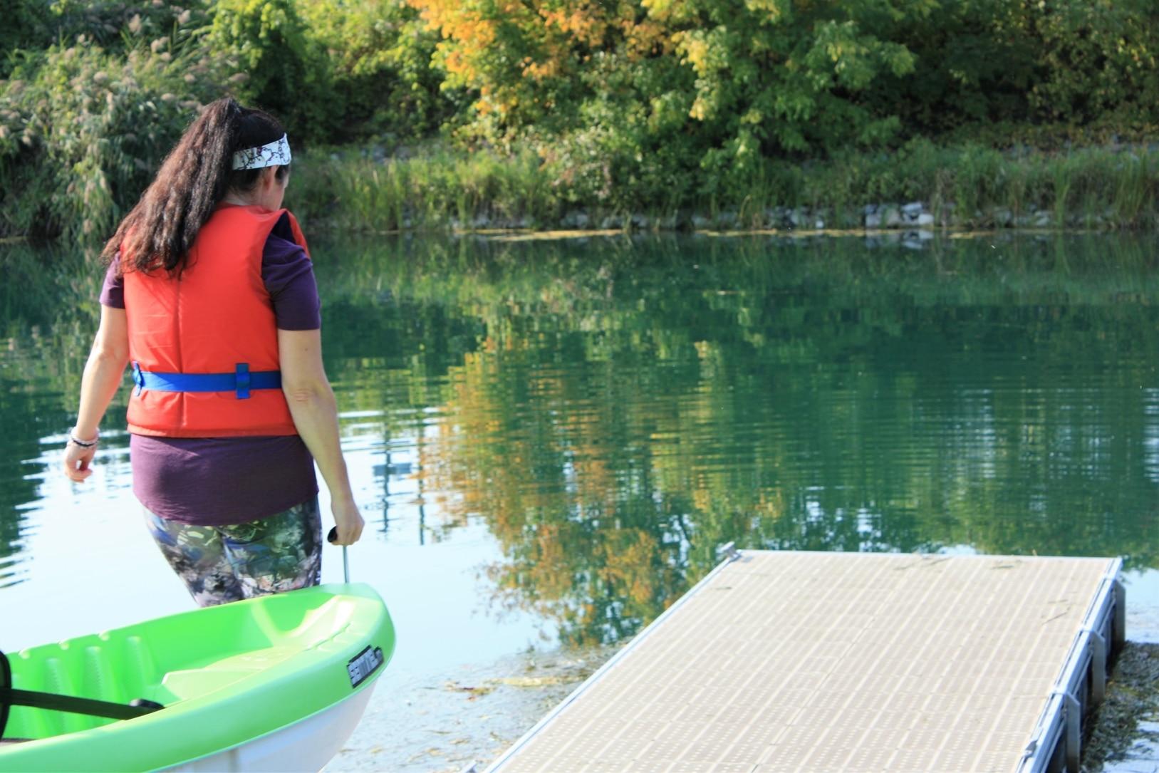 Kayak au canal Coteau-du-Lac été 2020