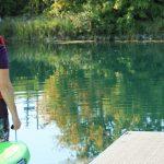 Ouverture officielle du kiosque de kayak et SUP au canal