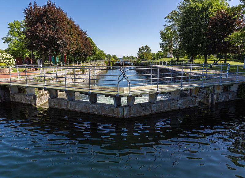 Canal de Soulanges écluses patrimoine