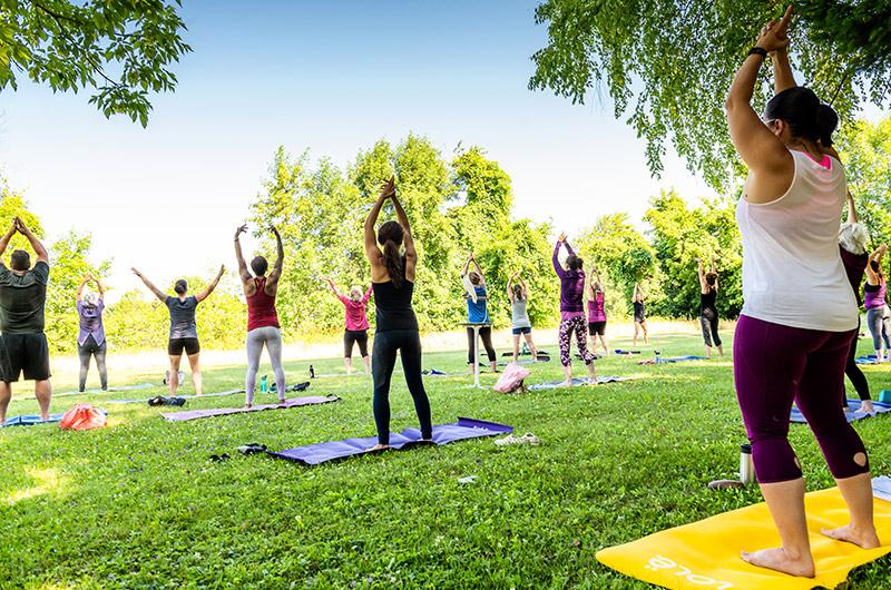 Yoga samedi zen méditation groupe événement