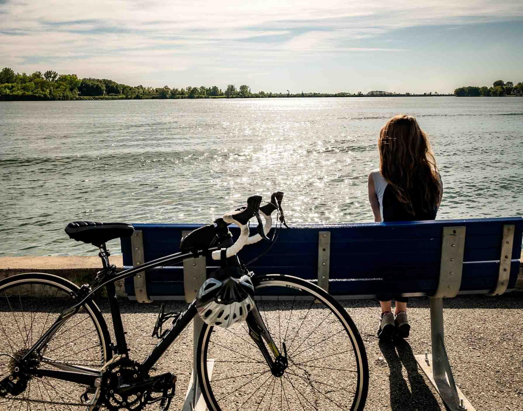 Navette fluviale vélo fleuve