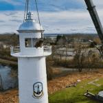 Une cure de rajeunissement pour le phare de Pointe-des-Cascades