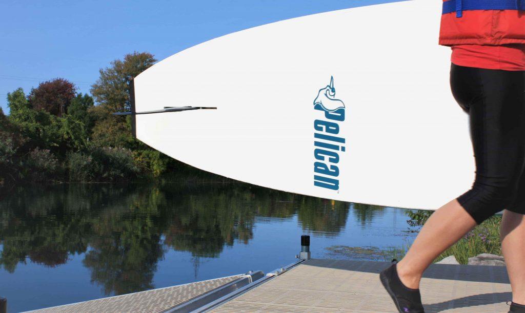 Emploi kayak SUP canal