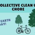 Collective clean up chore in honor of Earth Day